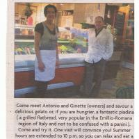Piada in the News and Chronicle